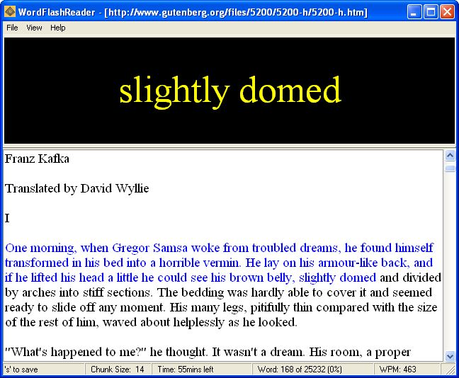 wordflashreader-screenshot