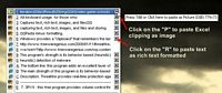 ArsClip screenshot - paste as image or richtext
