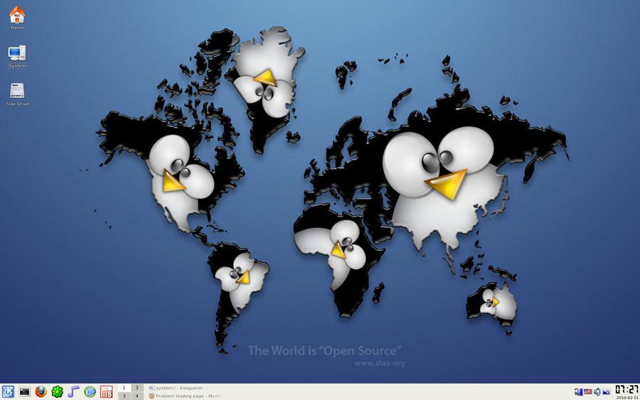 Slax Linux Desktop Snapshot