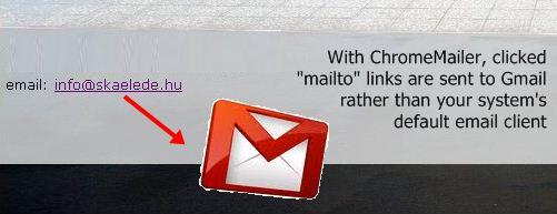 ChromeMailer Screenshot