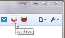 Join Tabs Screenshot