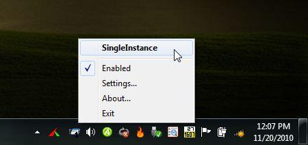 SingleInstance-screenshot