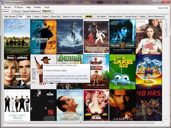 Organize and manage your movies with Media Companion ...