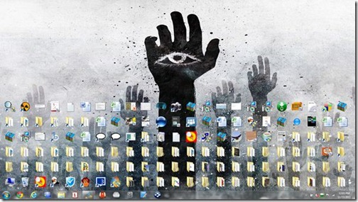 What does a cluttered desktop mean4