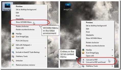 WOW64Menu Screenshot2