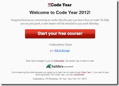 Code Year Screen 2