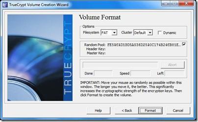 truecrypt volume format