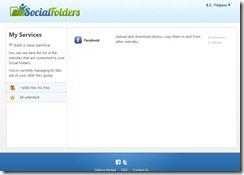 Social Folders Screen 7