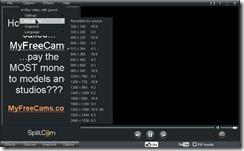SplitCam Screen 1