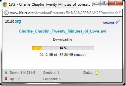 Bitlet.org screenshot2 - downloading