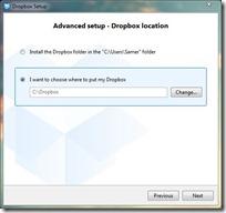 Dropbox setup 5