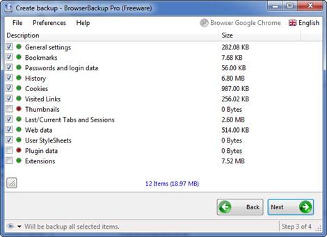 BrowserBackup 3