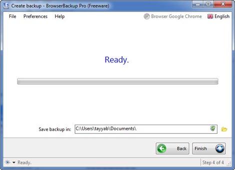 BrowserBackup 4