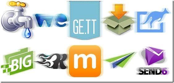 File sharing logos2