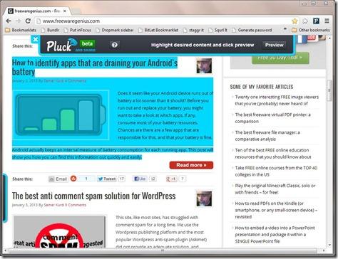Pluck Screenshot1