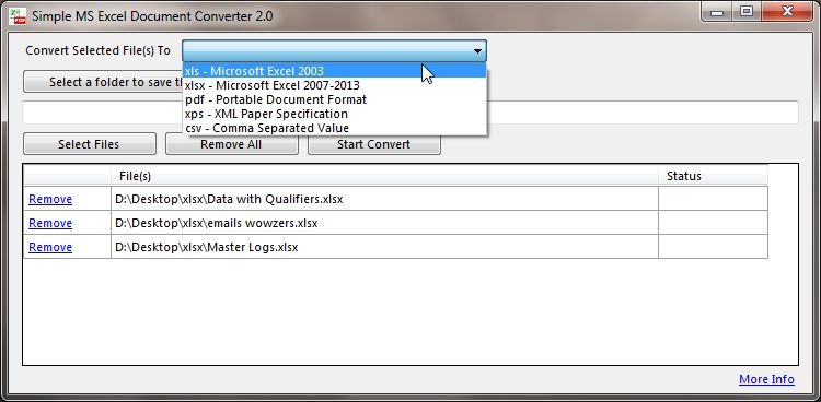 Xps File To Excel Converter