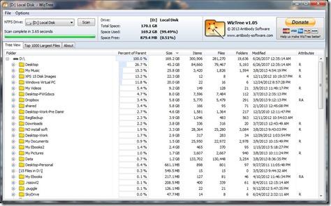 WizTree Screenshot2