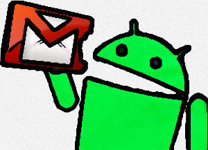 Android Eating Gmail_e