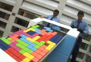 Tetris comes to life2