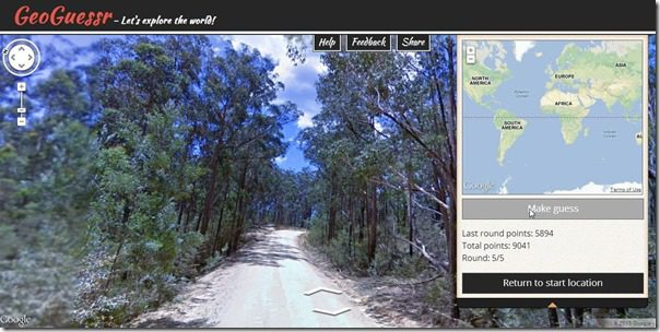 GeoGuesser Screenshot5
