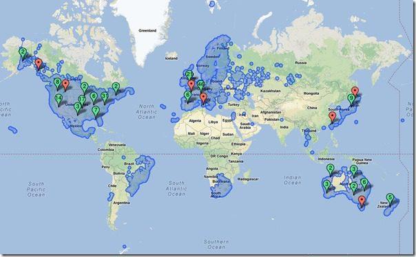 Google Maps Coverage