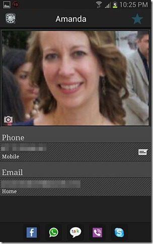 Contacts Dialer Screenshot 2