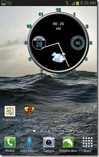 Frameroot Screenshot 4 -new icons