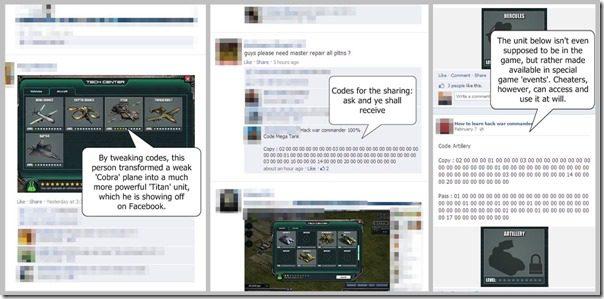 Facebook Cheats Screenshot2