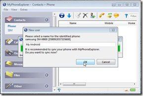 MyPhoneExplorer Screenshot3